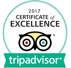 Trip Advisor Certificate of merit 2017